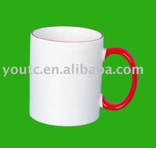 11oz white coated ceramic sublimation mugs