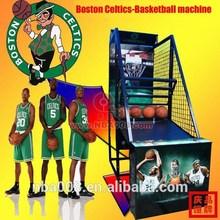 Boston Celtics Team Street Shooting Game Arcade Basketball Machine