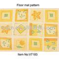 Espuma impresso moderno tapete de área, tapete tapete corredores