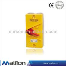 waterproof isolator switch
