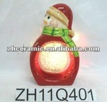 Ceramic christmas ornament 2013