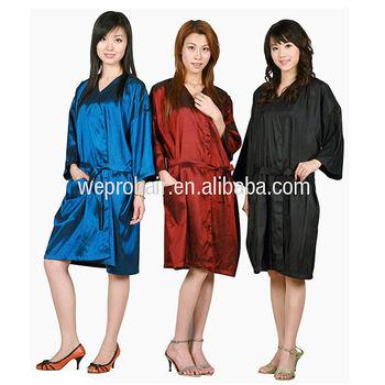 salon gown