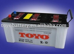 DRY CHARGE CAR BATTERY