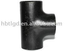 Sin costura de soldadura a tope de acero al carbono de reducción de t