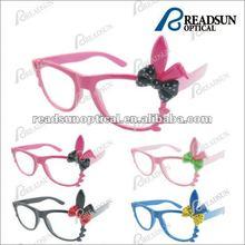 2012 Hot Sale Promotional Halloween Plastic Sunglasses with rabbit pattern(SP679005)