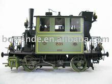 brass model train