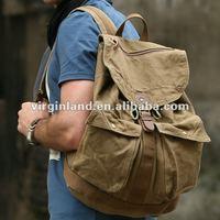 Vintage 6604 washed cotton canvas backpack