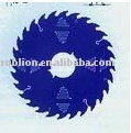 tungsten carbide tipped saw blade For cutter wood with laser-cut low noise BRG7(0642)