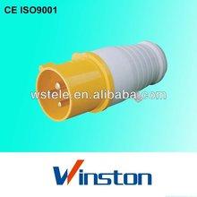 WT-013 16A 220V~250V 2P+E Nylon 66 IP44 CEE Industrial plug and socket