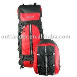 80L dacron 600d mountaineering bag