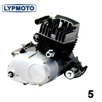 Water Cooled Motorcycle Engine