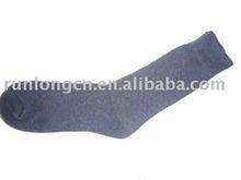 men's acrylic long custom socks