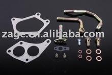 Turbo Oil & Water Line Kit for Subaru Impreza WRX STi JDM Spec C IHI RHF5HB VF36 VF37 VF42 Turbocharger