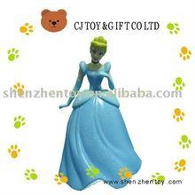 plastic PVC girl figure toy