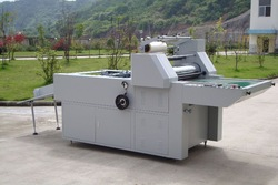 HYDRAULIC LAMINATING MACHINE
