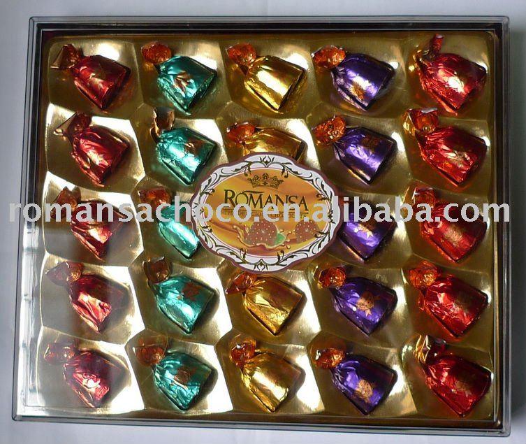 ه شوكولا حليب - 044 25pcs