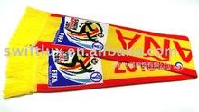 100% acrylic material football team scarf