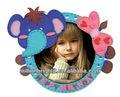 Diy etiqueta da foto frame, projeto animal photo frame set kit adesivo