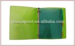 various color lever arch file folder