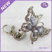 KF301 Butterfly wedding gifts metal keyfinder