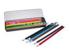 12pcs tin case with color pencils set