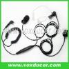 [E110240-M] For Motorola ham radio P040 P080 finger PTT earphone with clear tube