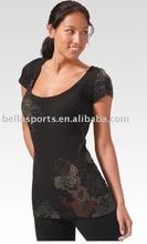 custom arm sleeves aerobic ladies fashionable custom fitness wear
