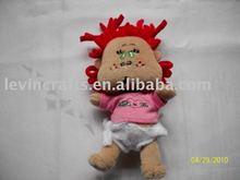 Cute Plush Stuffed Baby Doll with Cloth