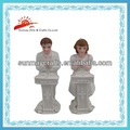 Regalos de boda de Polyresin con la estatuilla de los pares