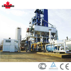 120t/h CL-1500 batching asphalt mixing plant, asphalt plant