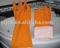 rubber latex hand household glove