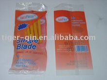10 PK SINGLE BLADE DISPOSABLE SHAVERS