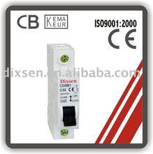 Mini Circuit Breaker C curves types CDSB-1P