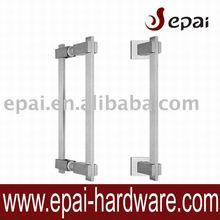 door handle lock in stainless steel for front door