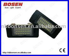 Auto LED light for BMW E39/E60 license plate no erros no warningssuper bright