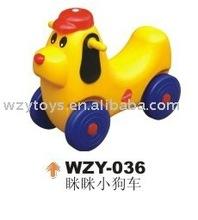 Mini Dog Car & spring ride &toys ride