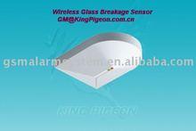 Wireless Glass Breakage Sensor,GB-100,GLASS BROKEN ALARM,GALSS SENSOR
