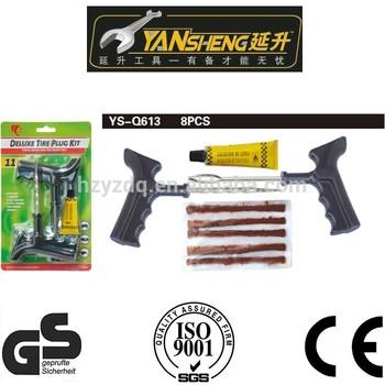 YS-Q613 CAR tyre repair kit,car emergency repair kit,roadside car tyre repair tools
