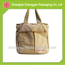 Canvas shopping tote bag (CA-012)