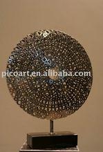 famous stainless steel sculpture,art sculpture