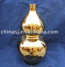 Bright Gold Gourd Vase WRYAZ237