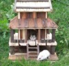 Three Layers Deluxe Wooden Pet House