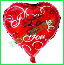 18 inches heart shape Love balloon
