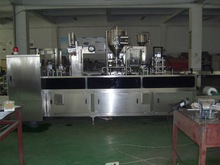 Plastic Cup thermoforming filling and sealing machine for butter, jam, cheese