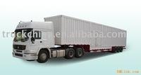 CIMC triple axles steel sheet van trailers