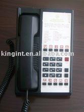 Kingint 2 line Hotel room corded telephone