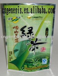 PE moistureproof tea packaging bag with printing