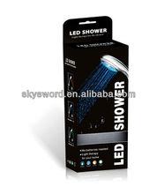 Utensílios de cozinha próprio interruptor de controle de temperatura do chuveiro detectável LED