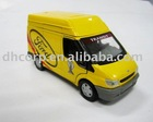 diecast ford transit van model with size 1 /43