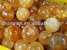 Natural Rock Yellow Jade Ball/Sphere